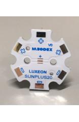 PCB STAR pour 1 LED Luxeon SunPlus 20