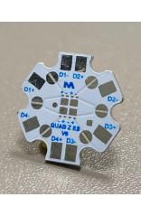 PCB STAR pour 4 LED Lumileds Luxeon Z ES