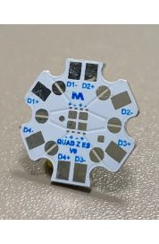 STAR PCB for 4 LED Lumileds Luxeon Z ES