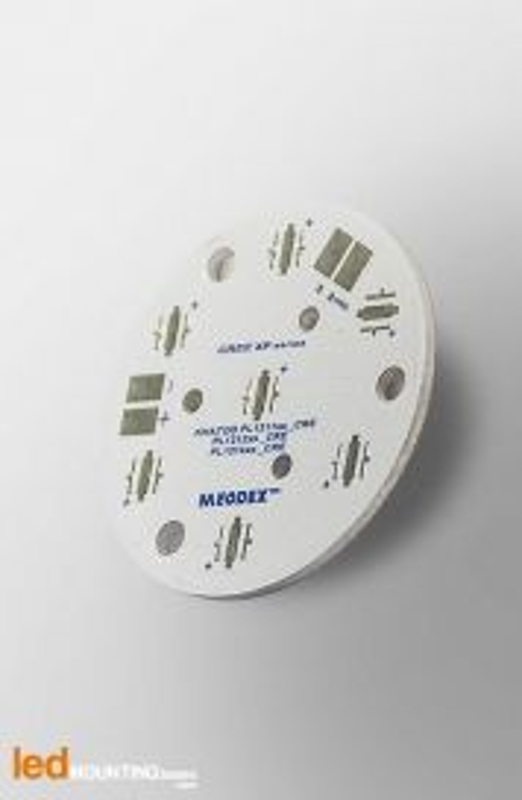MR11 PCB for 7 LED CREE XT-E Royal Blue / Khatod LED lens compatible