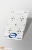 Strip PCB for 4 LED Seoul SemiSEOUL Z5M2 / Ledil LED lens compatible