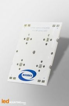 Strip PCB for 4 LED Seoul SemiSEOUL Z5M0 / Ledil LED lens compatible
