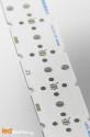 MCPCB STRIP pour 6 LEDs Osram Oslon Serie compatible optique Ledil