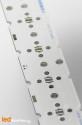 MCPCB STRIP pour 6 LEDs Nichia N219 compatible optique Ledil