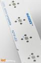 MCPCB STRIP pour 5 LEDs Nichia 219