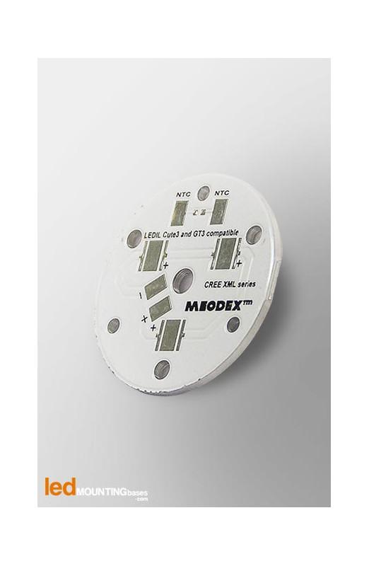 D35 MCPCB for 3 LEDs CREE XML Ledil LED Lens compatible
