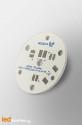 D35 MCPCB for 3 LEDs Nichia 119 Ledil LED Lens compatible