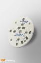 D35 MCPCB for 4 LEDs Osram Oslon Serie Ledil LED Lens compatible