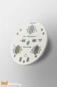 MCPCB Diametre 40mm pour 3 LEDs CREE XR compatible optique Ledil