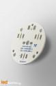 D40 MCPCB for 3 LEDs Nichia x83 Ledil LED Lens compatible