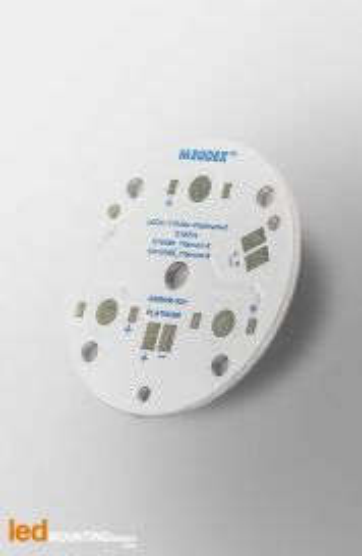 D40 MCPCB for 3 LEDs Osram Dragon Serie Ledil LED Lens compatible