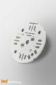 MCPCB Diametre 40mm pour 4 LEDs CREE MX-6 compatible optique Ledil