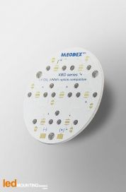 D40 MCPCB for 7 LEDs CREE XB-D Ledil LED Lens compatible